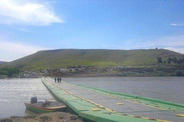 La frontière entre le Rojava et le KRG, délimitée par le Tigre.