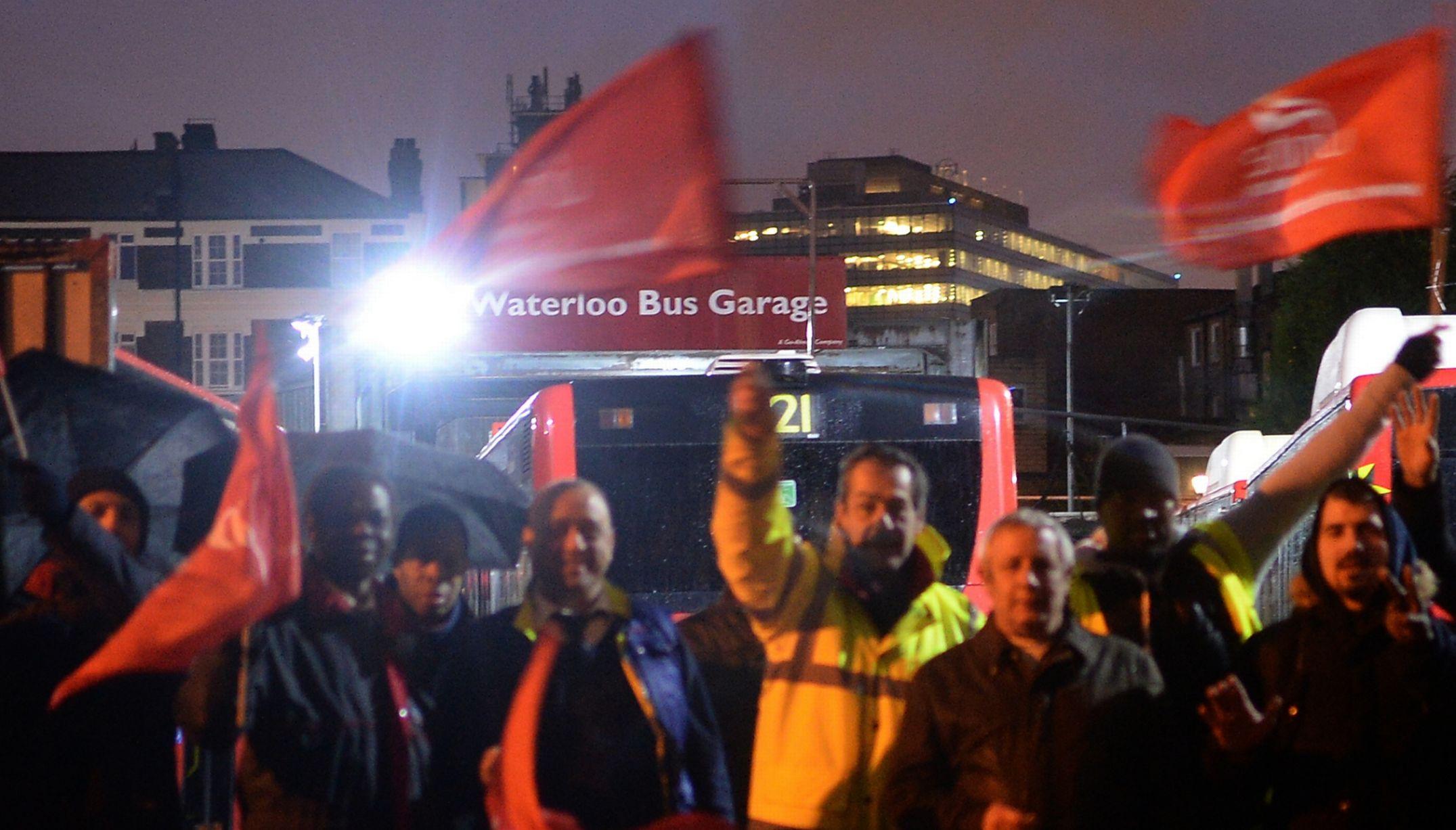 C'est suite à la grève des transports de janvier que le projet de loi avait été proposé