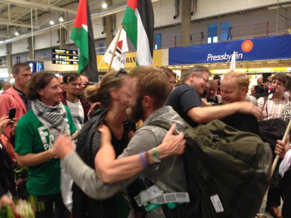 Le dernier prisonnier libéré ce 6 juillet soir, arrivé en Suède.