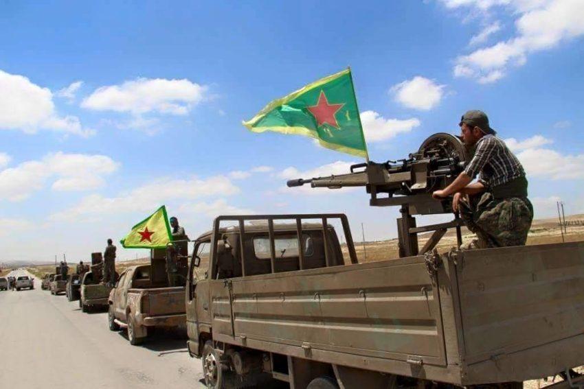 Les YPG et les YPJ