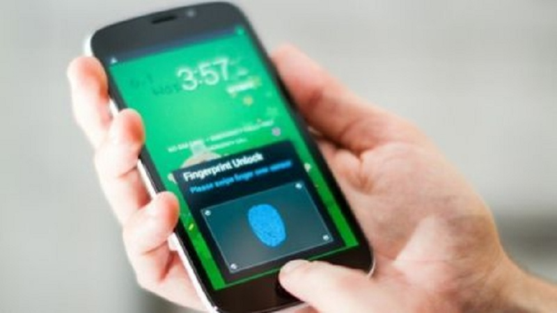 Le dispositif de Sonavation (ici sur un smartphone)