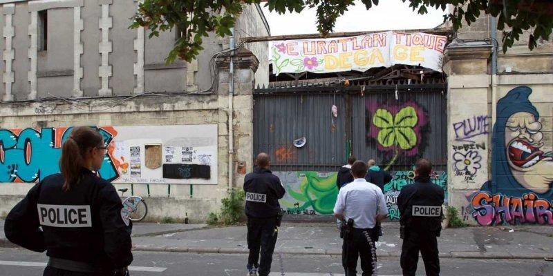 L'expulsion du squat de la rue Devienne
