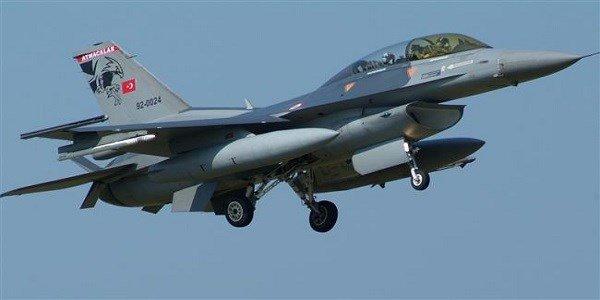 Un F-16 turc.