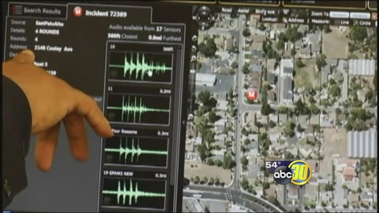 Gunshot detection technology