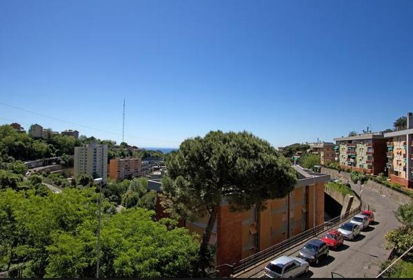 Le relais surplombant Veduta di Granarolo