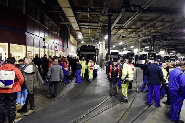 La grève du 19 novembre dernier à Genève