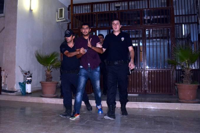 Une des arrestations à Nusaybin