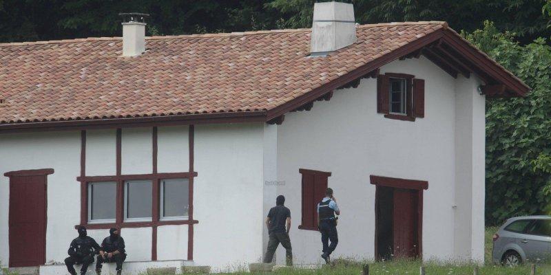 La maison perquisitionnée à Ossès