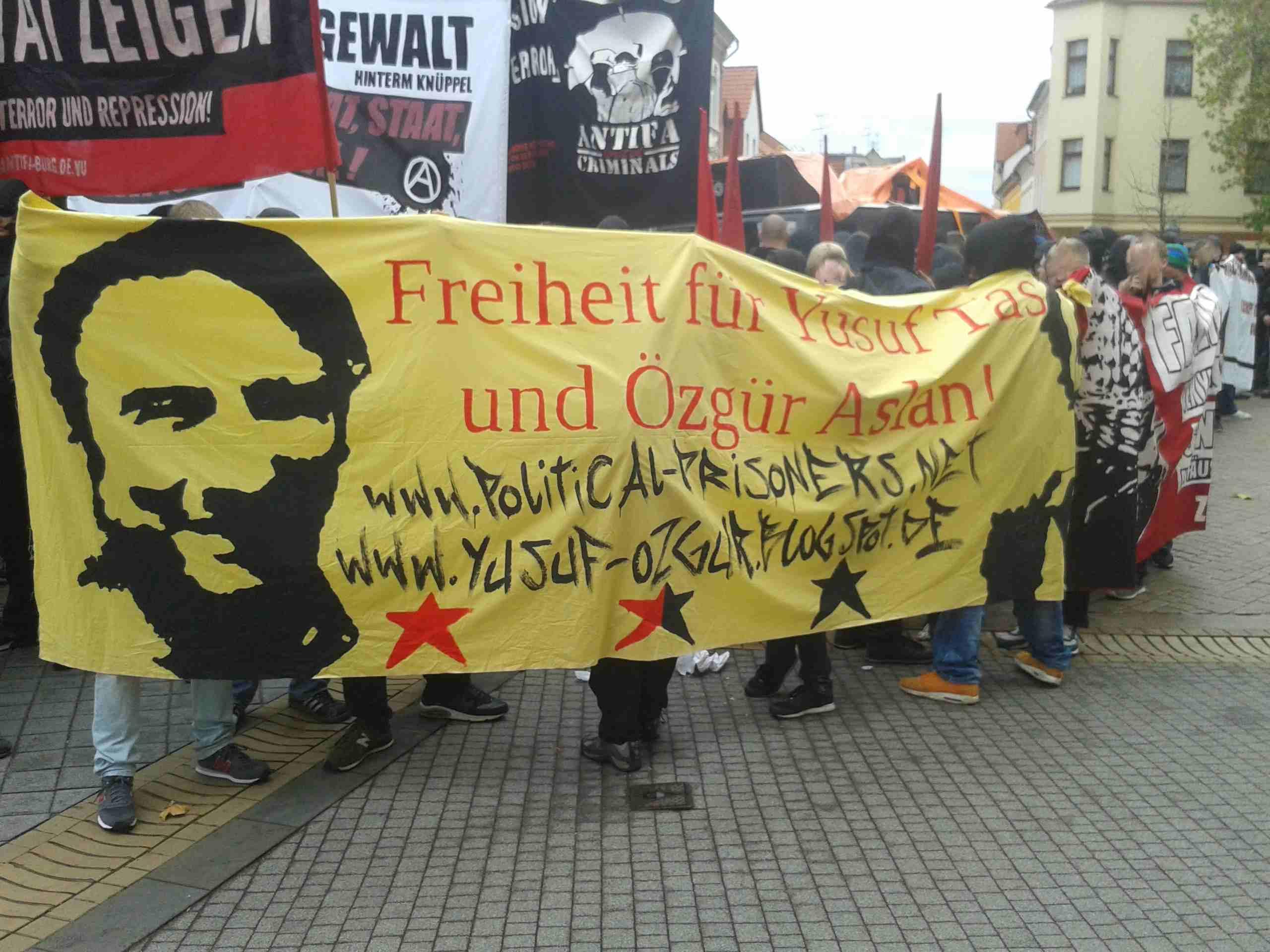 Un rassemblement à Stuttgart