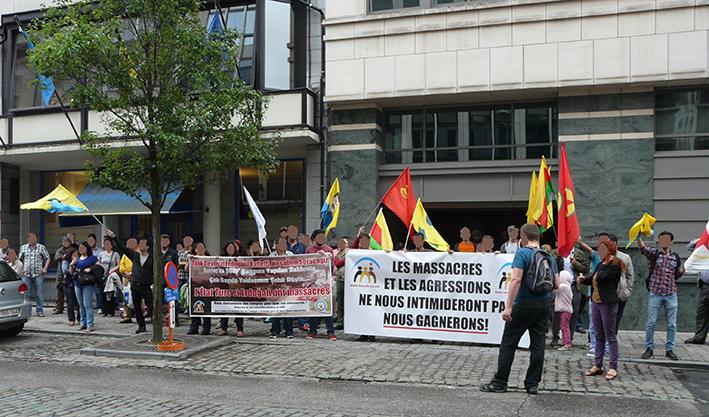 Rassemblement cet après-midi devant l'ambassade de Turquie