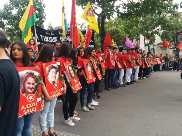 La manifestation de ce samedi à Paris