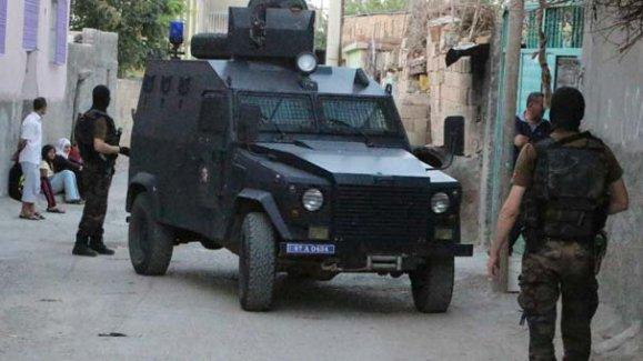 Affrontements entre la police et une organisation de jeunesse kurde.