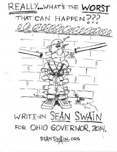 Affiche pour Sean Swain.