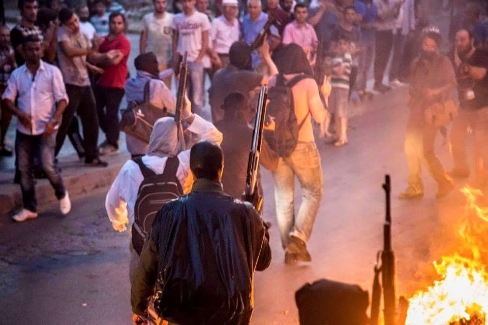 Les milices du MLKP et du TKP/ML en action hier à Gazi