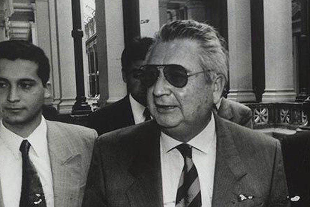 Un des condamné: l'ex général et procureur militaire Fernando Torres Silva (à droite)