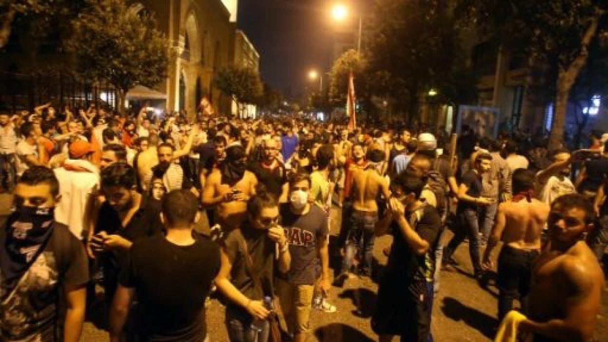 Manifestation à Beyrouth ce 22 août.
