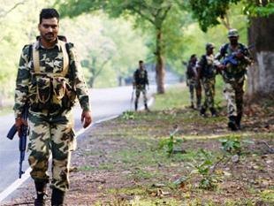 Soldats en opération de contre-insurrection