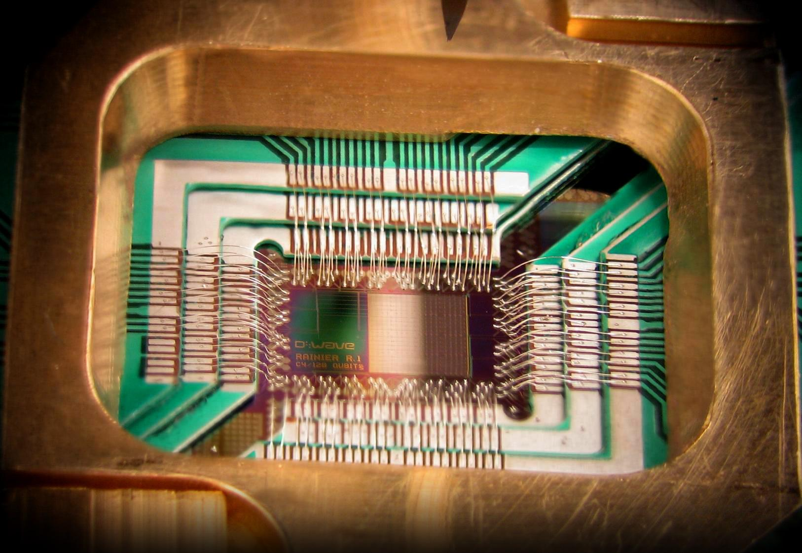 Un processeur quantique conçu par Google et D-Wave