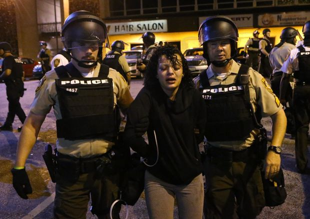 Arrestation lundi à Ferguson