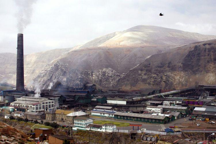 Le complexe minier Doe Run, à La Oroya