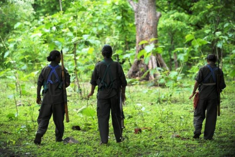 Guérilleros maoïstes dans l'Odisha