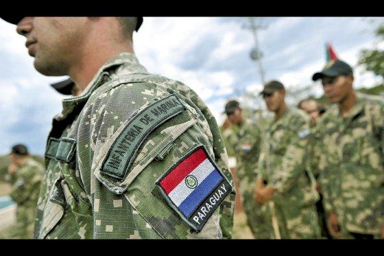 Membre des forces spéciales paraguayennes