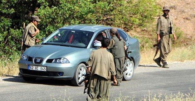 TKP/ML et PKK contrôle les routes de Dersim et Hazot