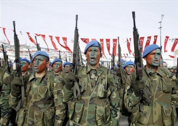 Commandos de montagne de l'armée turque