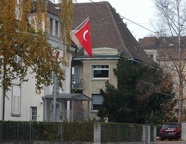 Consulat turc à Zürich.