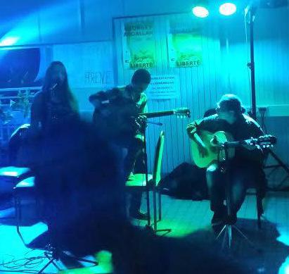 Concert de l'Oxidoriental band à Nanterre