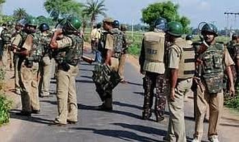 Membres de la police armée du Jharkhand