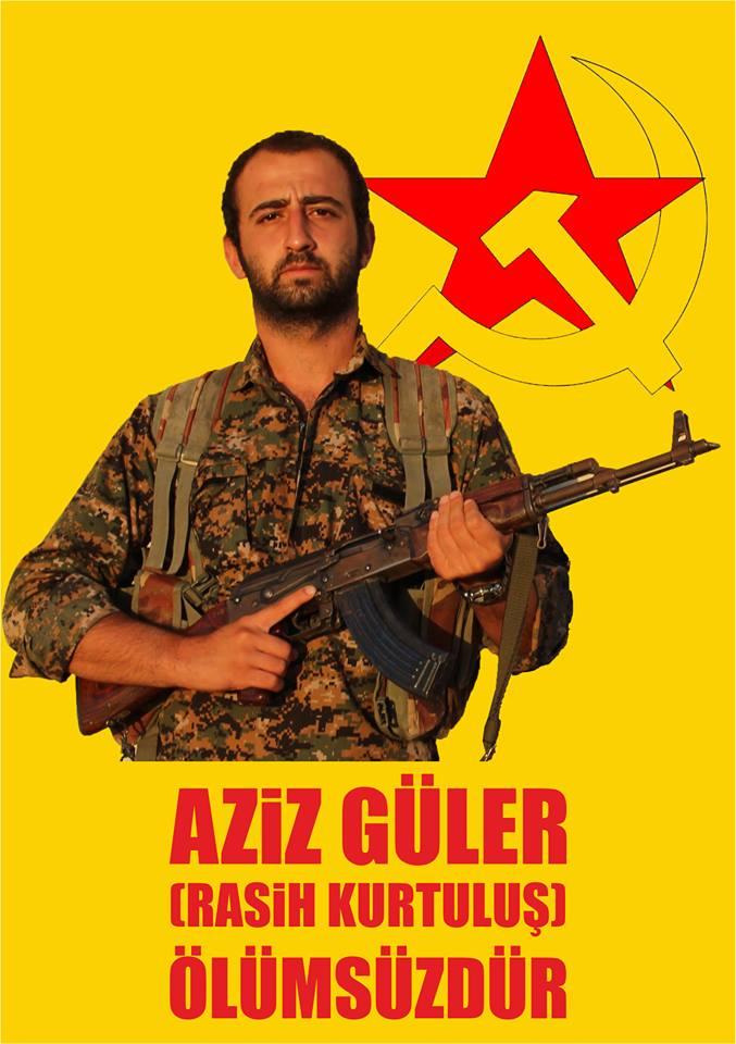 Aziz Güler (nom de guerre : Rasih Kurtuluş)