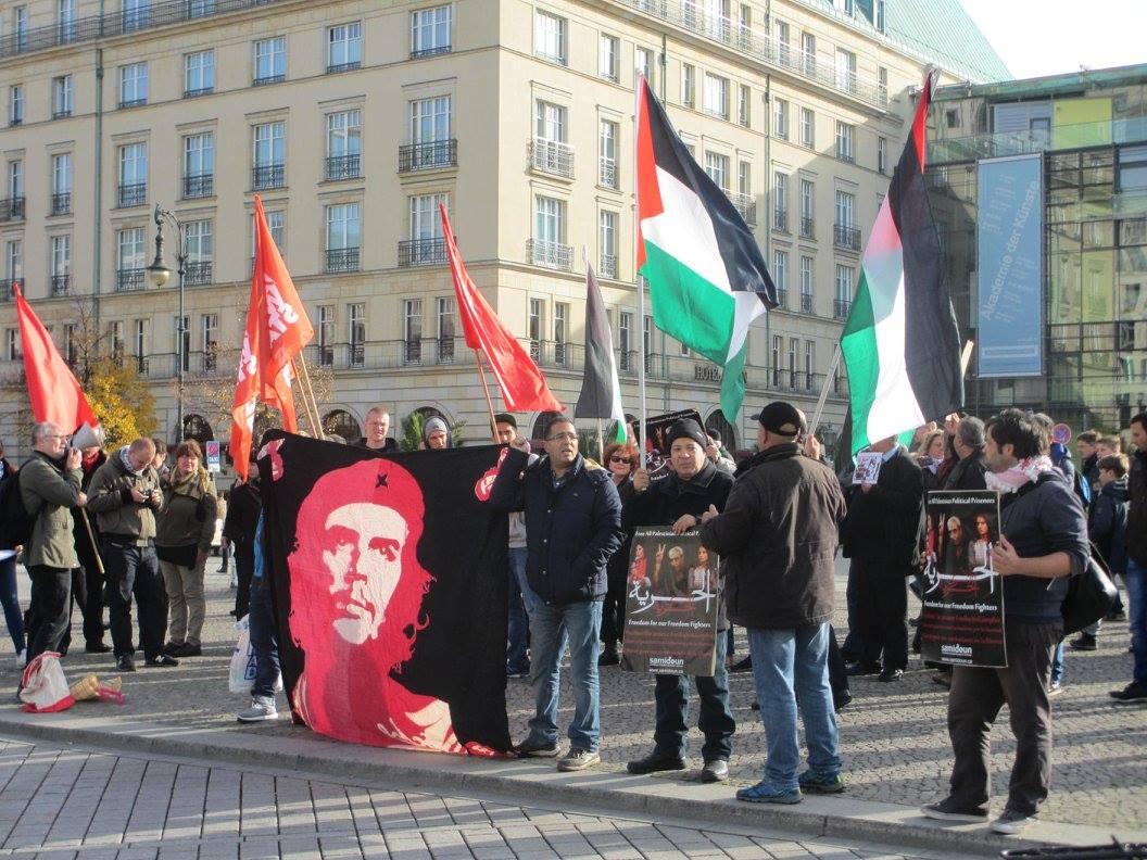 Au rassemblement de Berlin