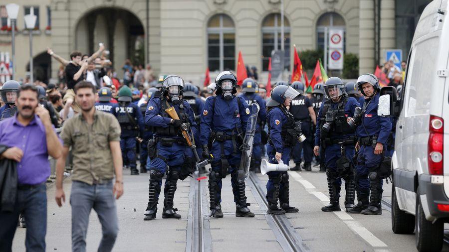 Les incidents à Berne
