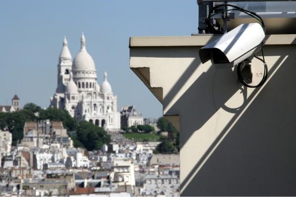 Vidéosurveillance à Paris
