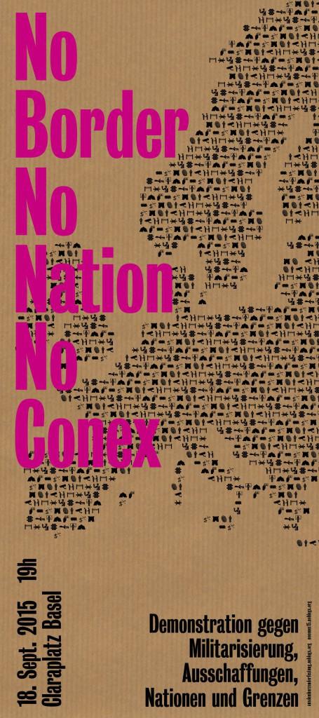 No Border, No Nation, No Conex !
