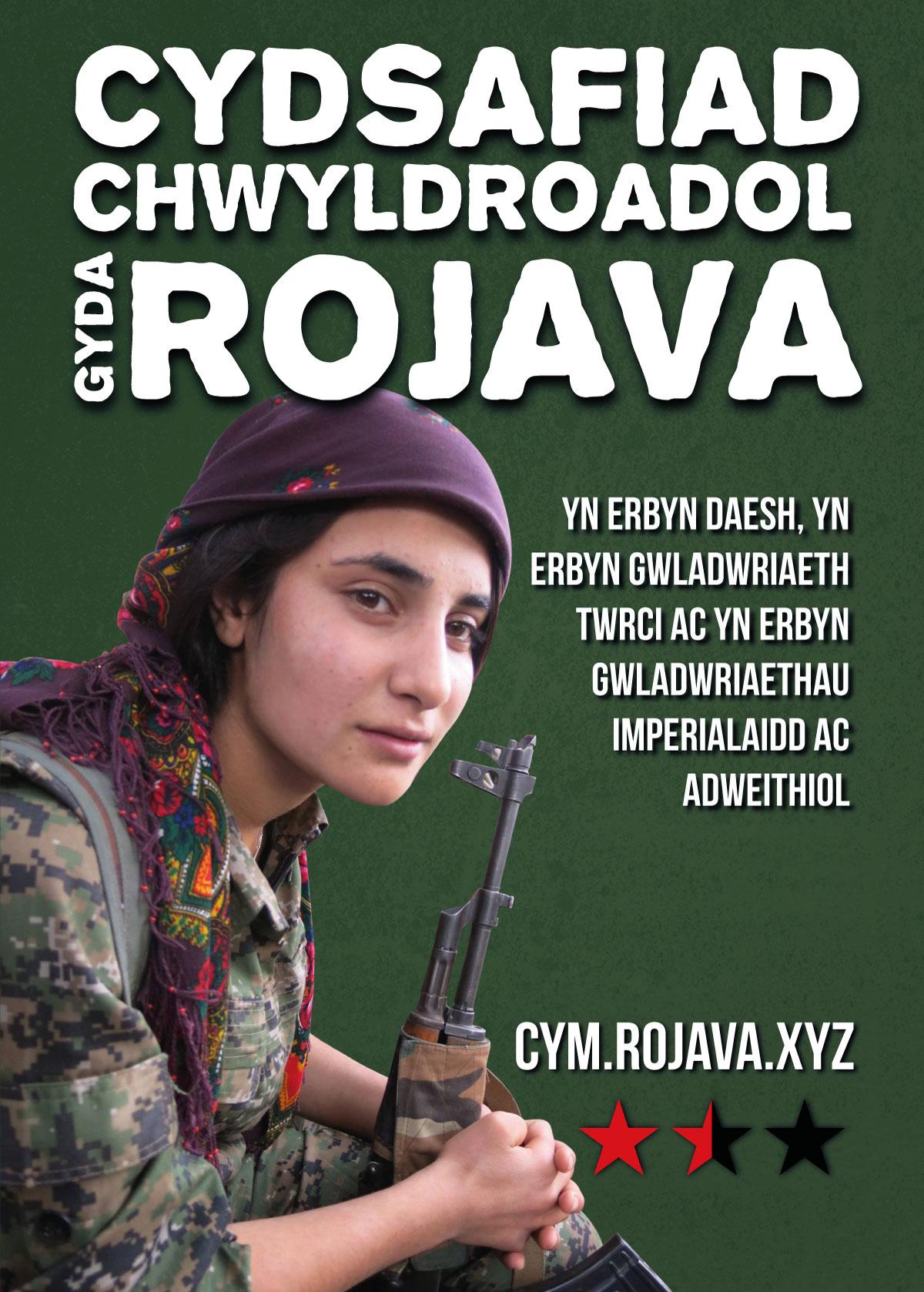 Cydsafiad chwyldroadol gyda Rojava