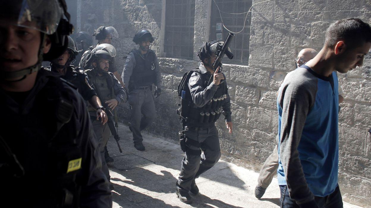 Les affrontements à Jérusalem