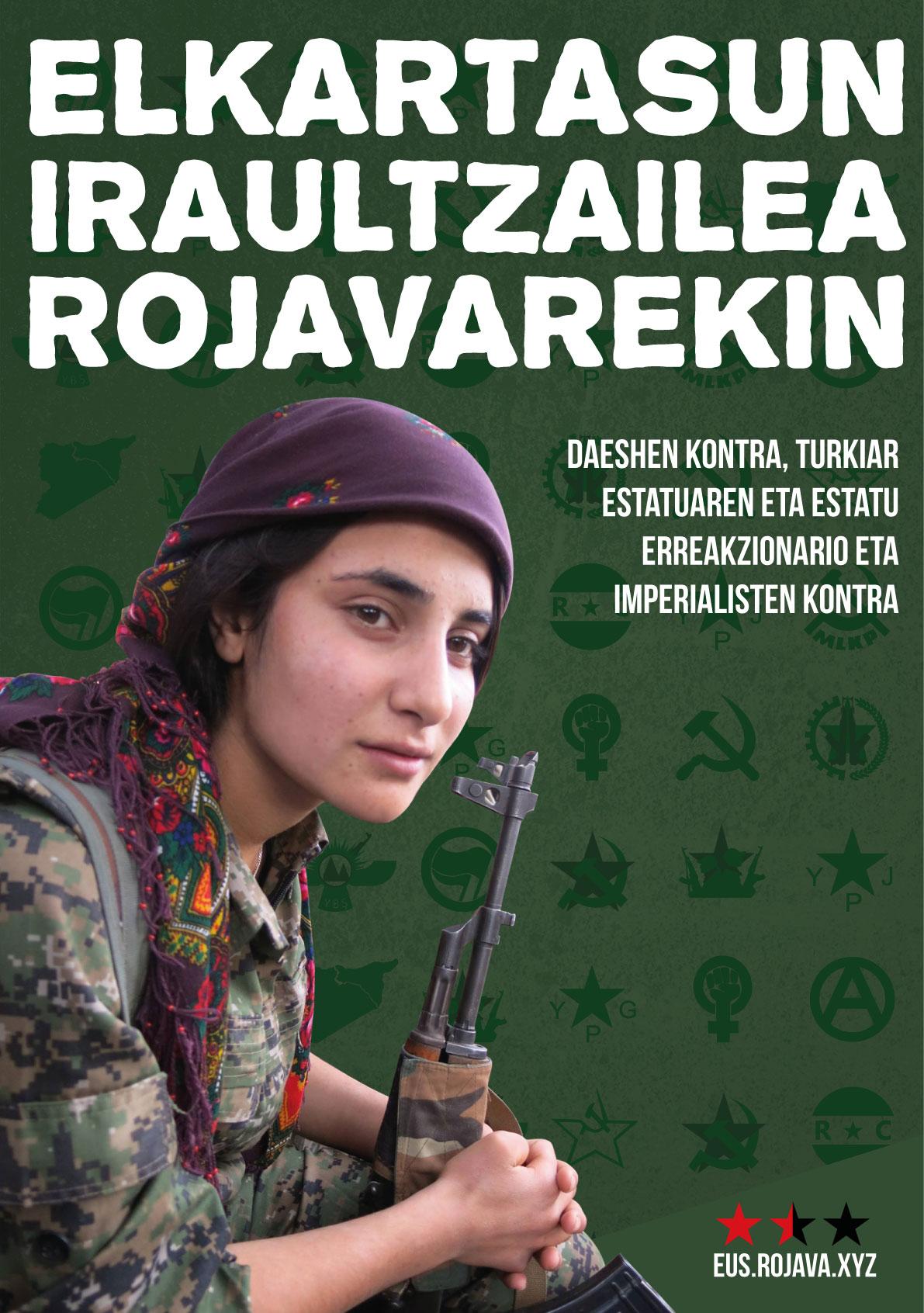 Elkartasun iraultzailea Rojavarekin