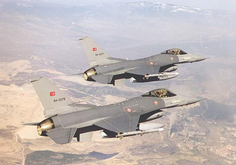 Des F16 turcs