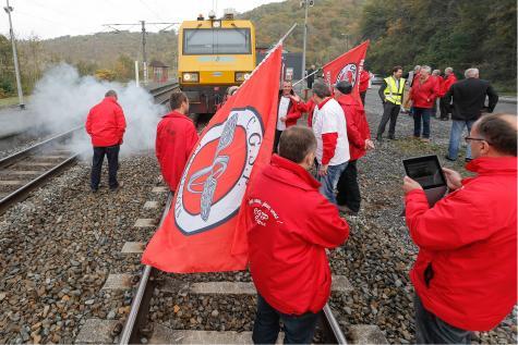Grève à la SNCB (image d'archive)