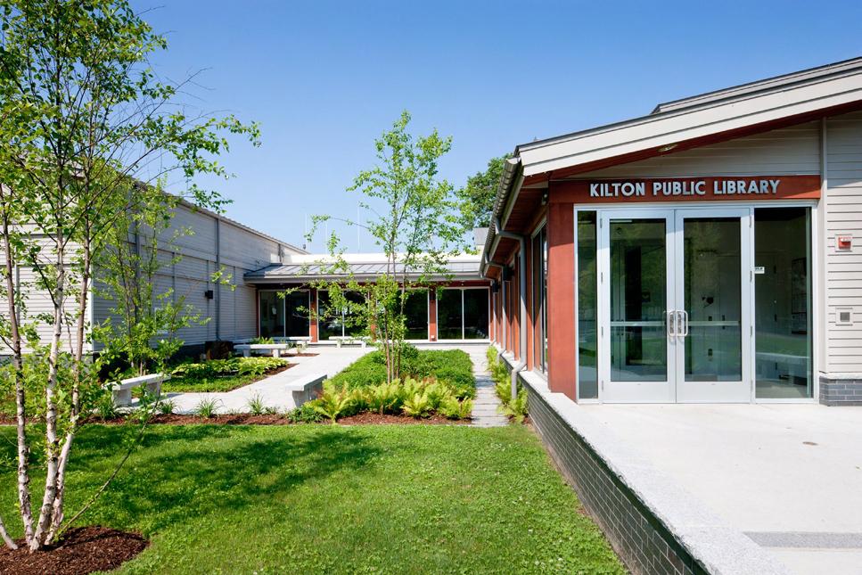 La bibliothèque de Kilton.