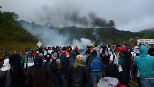 Affrontements dans le Guerrero