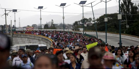 La manifestation de Mexico