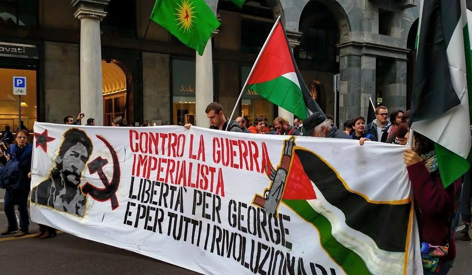 A la manifestation de Milan