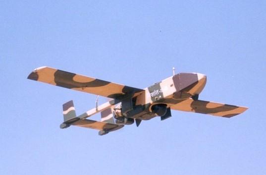 Un drone militaire indien de type