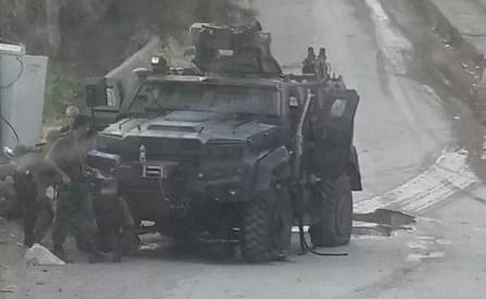 Embuscade dans la région du Madrin.