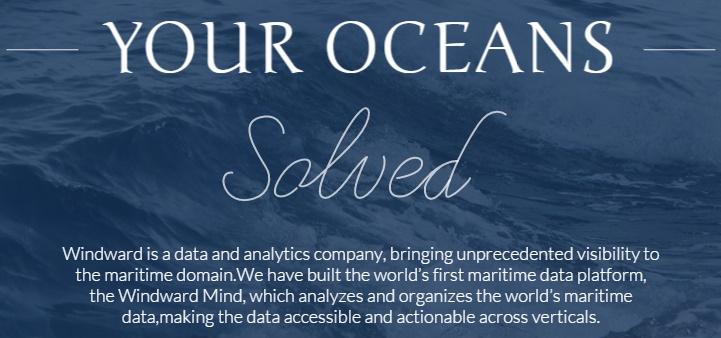 Windward analyse le trafic maritime mondial.