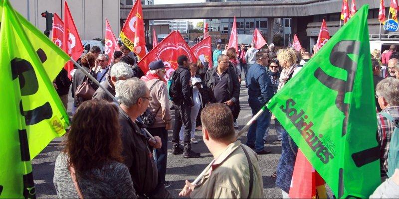 La manifestation à Bordeaux