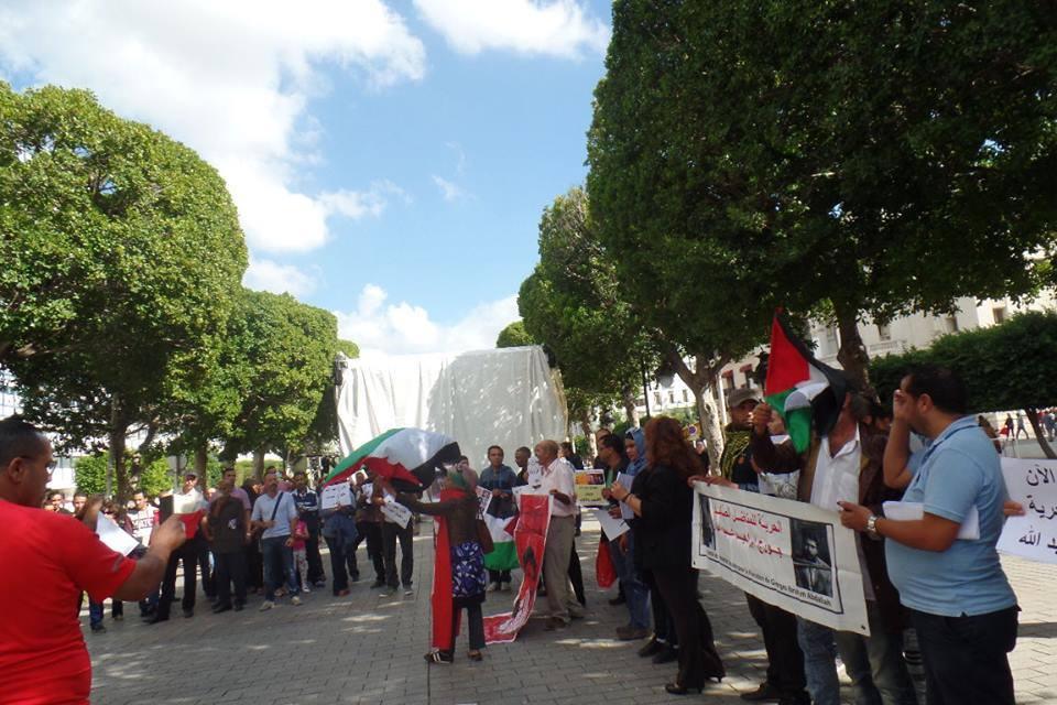 Au rassemblement de Tunis